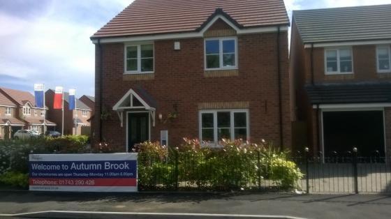 New building developments in Shrewsbury